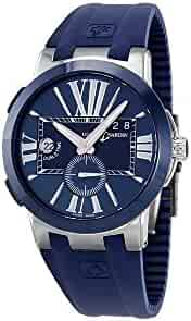 Ulysse Nardin Executive Dual Time Men's Automatic Watch - 243-00-3/43