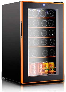 DHINGM LED fría Vino Frigorífico bajo encimera, refrigeradores de Vino for Las Botellas de Vino, Botellas Sostiene hasta 24 Standard