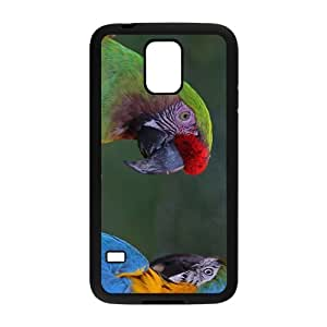 Colorful Parrot Hight Quality Plastic Case for Samsung Galaxy S5