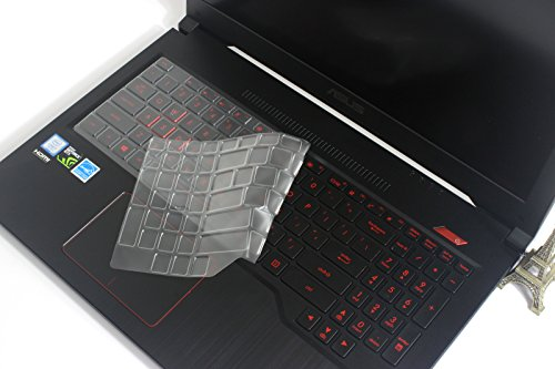 Laptop Keyboard Protection - Bodu Ultra Thin Keyboard Protector Dust Cover Skin for ASUS 15.6