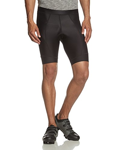 Craft Sportswear Men's Active Bike Cycling Stretch Fitted Shorts: protective/riding/compression/cooling, Black, Medium For Sale