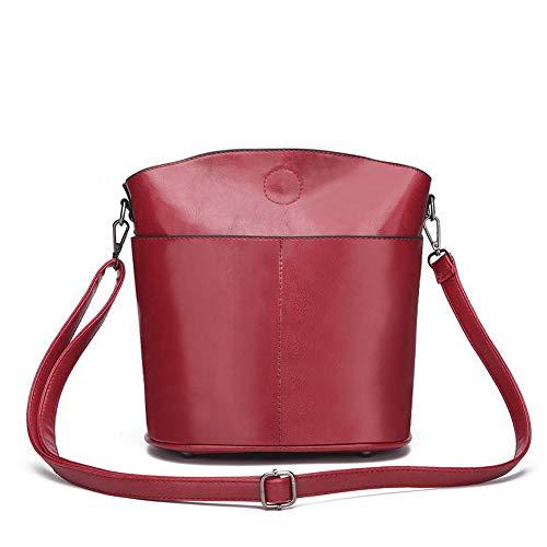 ¨¤ F¨ºte Femme tout CCAFBP181256 seau Sacs fourre Vineux bandouli¨¨re Noir Sacs Rouge VogueZone009 Style de Sw0zqdz