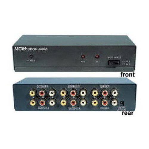 MCM Custom Audio 30-1376 Composite Video and L/R -
