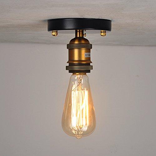 Ceigling enciende la lámpara antigua de la antigüedad del ...