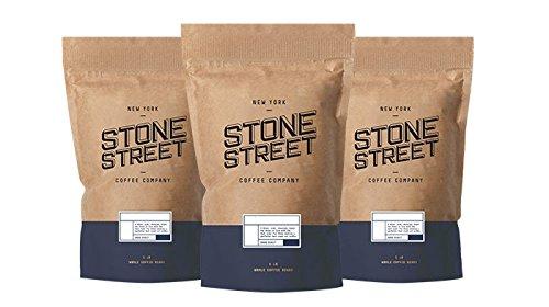 Stone Street Coffee Freshly Roasted Colombian Arabica Cinnamon/Nutmeg Creamy PUMPKIN SPICEGround Coffee, 1 lb
