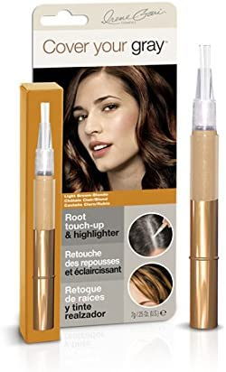 Irene Gari Cover Your Grey for Women Root Touch Up & Highlighter Light Brown by Irene Gari