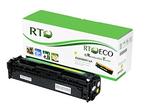 Renewable Toner 131 Canon 6269B001AA 131H Compatible Yellow Laser Toner Cartridge for use in Color imageCLASS MF8280cw MF628CW LBP-7110cw i-SENSYS MF8230cn MF8280cw LBP-7100cn LBP-7110cw