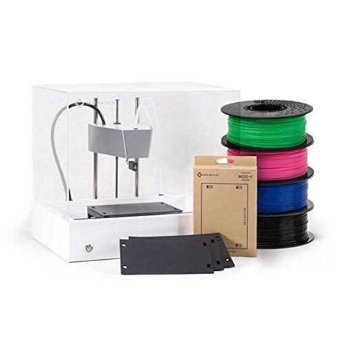 New Matter MOD-t 3D Printer Entry Bundle - Includes 3 Spools of...