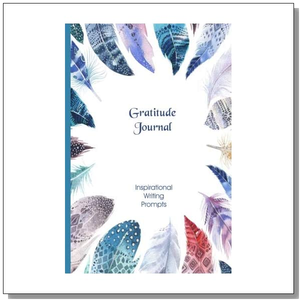 Gratitude Journal: Inspirational - Boho: Gorgeous full color illustrated self growth writing prompts Thankfulness Diary and Blessings Journal (Illustrated Writing Prompts Gratitude Journal Paperback)