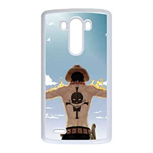 LG G3 Cell Phone Case White ONE PIECE R3328492