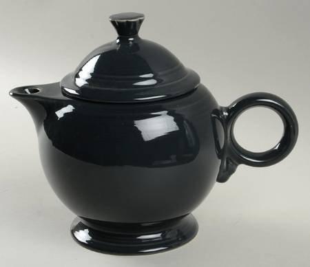 (Homer Laughlin Fiesta-Slate (Newer) Teapot & Lid, Fine China Dinnerware )