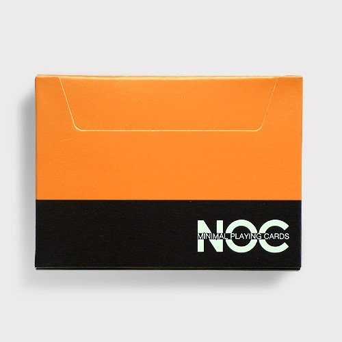 NOC Summer v3 Playing Cards (Orange) Limited Edition Deck by The Blue Crown