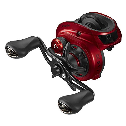 Piscifun Spark Baitcasting Fishing Reel Super Compact, 16.5 LB Carbon Fiber Drag, Magnetic Brake System Low Profile Baitcaster Reel