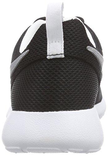 Gs white Scarpe da Silver Mtllc Unisex Roshe Black white One Ginnastica Bambino Nike Nero wEStqOI