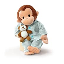 Russ Berrie Curious George In Pajamas 12 Plush by Russ Berrie