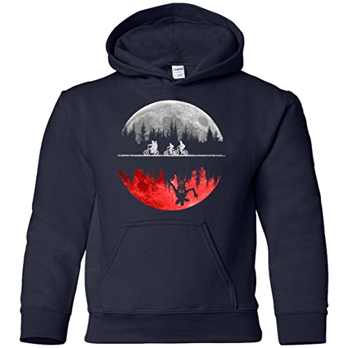 (Hawkins The Upside Down 1983 Stranger Things Inspired Youth Shirt Pullover Hoodie Boys/Unisex (YS-YXL))