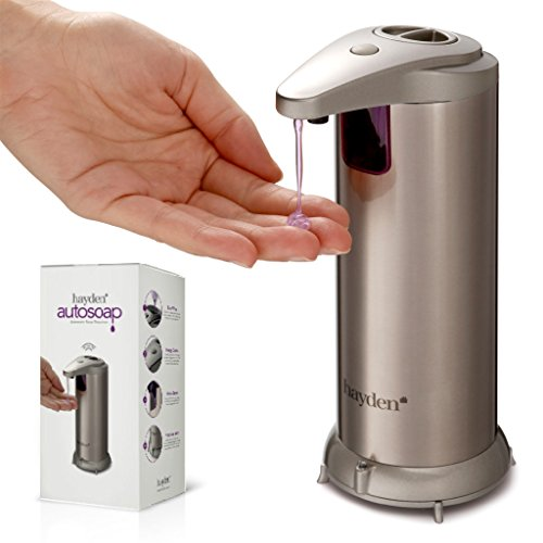 gold automatic soap dispenser - 2