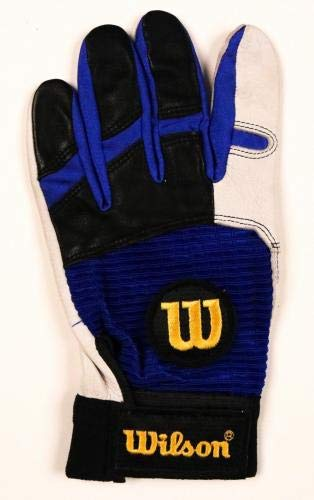 Rafael Palmeiro Rangers Orioles Signed Game Used Batting Glove CSI LOA MLB Game Used Gloves