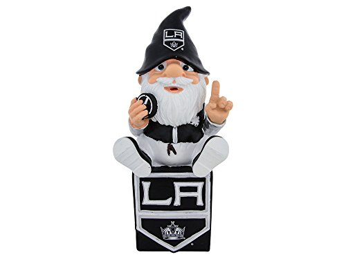 FOCO Los Angeles Kings Sitting On Logo Gnome by FOCO