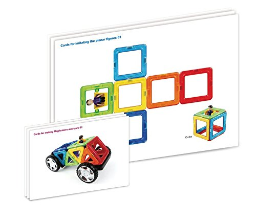 Magformers Vehicle Wow Set (16-pieces) Magnetic    Building      Blocks, Educational  Magnetic    Tiles Kit , Magnetic    Construction  STEM Toy Set includes wheels by Magformers (Image #9)