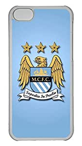 GOOD 5C Case, iPhone 5C Case, Personalized Hard PC Clear Shoockproof Protective Case Cover for New Apple iPhone 5C - Manchester City Fc