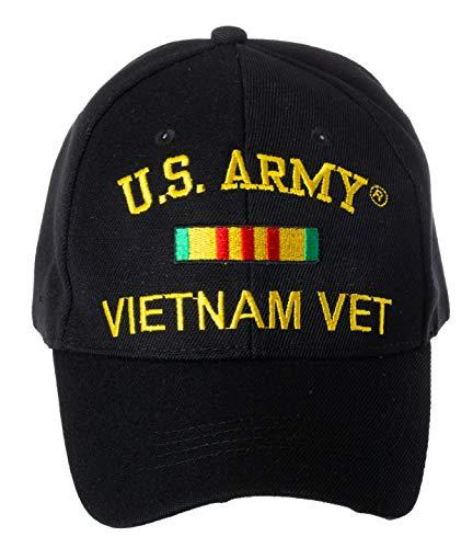 Artisan Owl Officially Licensed U.S. Army Vietnam Veteran Embroidered Adjustable Baseball Cap