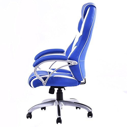 Giantex High Back Racing Style Office Chair Pu Leather