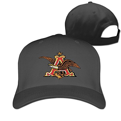 anheuser-busch-logo-fitted-hats-plain-baseball-cap