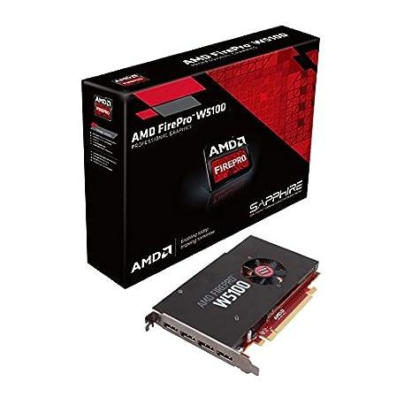 Sapphire 100-505737 AMD FirePro W5100 4 GB tarjeta gráfica ...