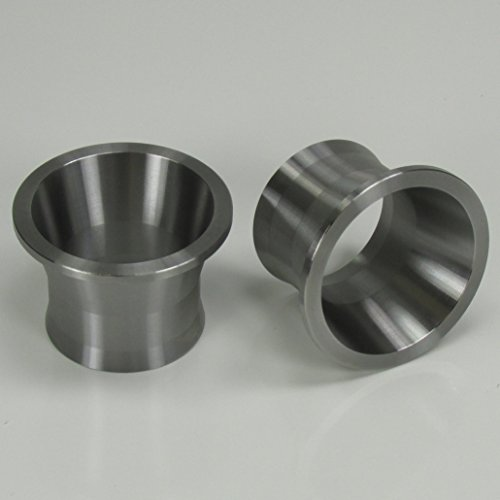 Exhaust Port Torque Cones 1999-Later Harley Sportster Evolution EVO Engines and Twin Cam Models - Stainless Steel - Increases Power and Reduces Reversion on Unbaffled Exhaust Systems - Chopper - Twin Power System