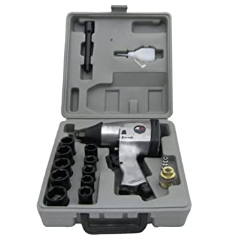 1 2 air impact tire and wheel lug nut automotive shop torque wrench kit industrial. Black Bedroom Furniture Sets. Home Design Ideas
