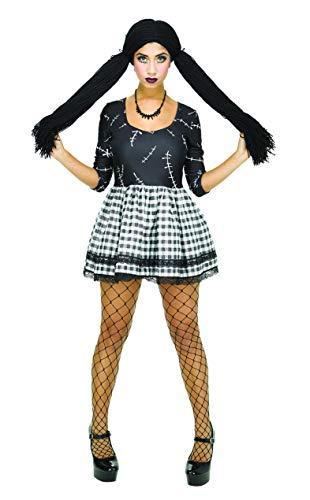 Broken Doll Clothing - IDS Broken Doll Costume Women Dead Doll Dress for Halloween Cosplay