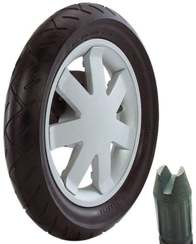 Quinny Buzz rear wheel from 2009 ONWARDS| SILVER