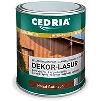 Lasur protector madera exterior al agua Cedria Dekor