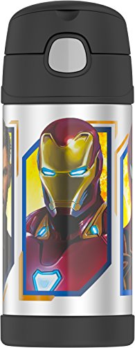 (Thermos F4018AVM6 Licensed 12 OZ FUNTAINER BOTTLE Avengers Infinity War, Batman)