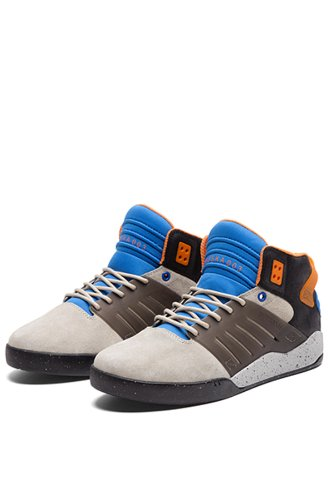 Supra, Sneaker uomo (Sand / Black / Royal/Black)