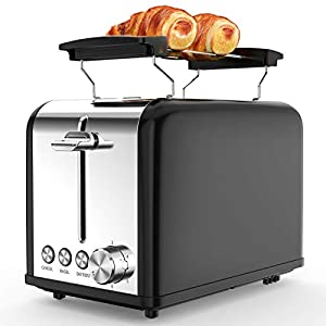 Tostapane 2 Fette, Tostapane per Toast 6 Livelli di Tostatura morpilot Tostapane Funcioni di Automatico Riscaldamento… 16