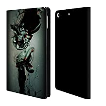 """Official Pete """"Aeiko"""" Harrison Advent Nature And Fantasy Leather Book Wallet Case Cover For Apple iPad mini 4"""