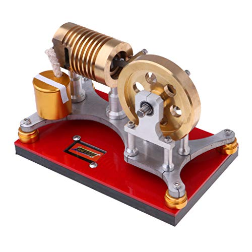 Fityle 300-500RPM Flame Licker Eater Flywheel Stirling Engine Motor Generator Science Kits by Fityle (Image #7)