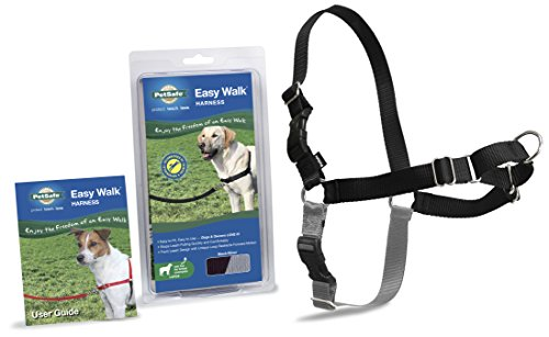 PetSafe Harness Large BLACK SILVER product image