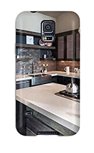 Durable Protector Case Cover With Cooktop On Oversized Island In Industrial Kitchen Hot Design For Galaxy S5