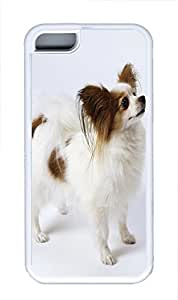TYH - iPhone 5/5s Case Butterfly Dog 02 TPU Custom iPhone 5/5s Case Cover White ending phone case