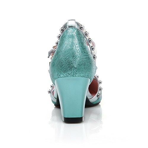 1TO9 - Sandalias de vestir para mujer Azul