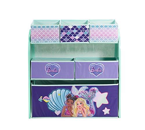Barbie Mermaid Multi-Bin Toy Organizer