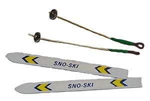 2 Ski - Maßstab 1:12