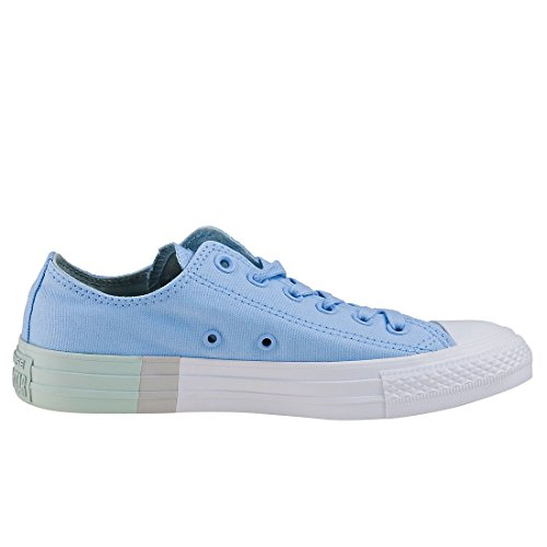 Omgekeerde Chuck Taylor Aal Ster Ox Dames Trainers Pastelblauw