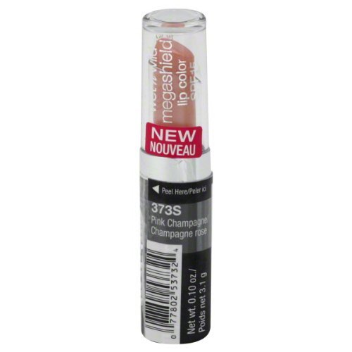 Wet 'n Wild Mega Shield Lip SPF#15 Pink Cham-pagne (Pack of 3) (15 Spf Pink Lipstick)