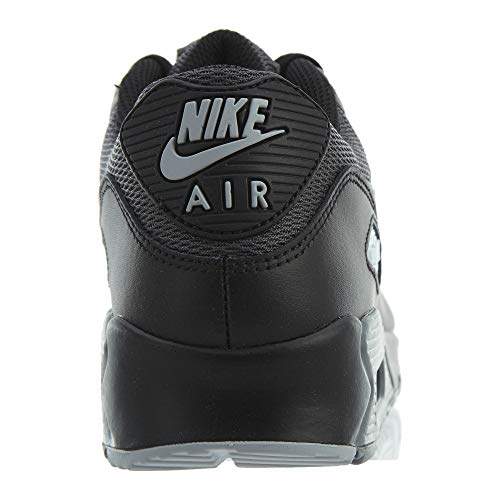Black Wolf 90 Essential Black Grey Nike Max Air Sneaker xXHpffa