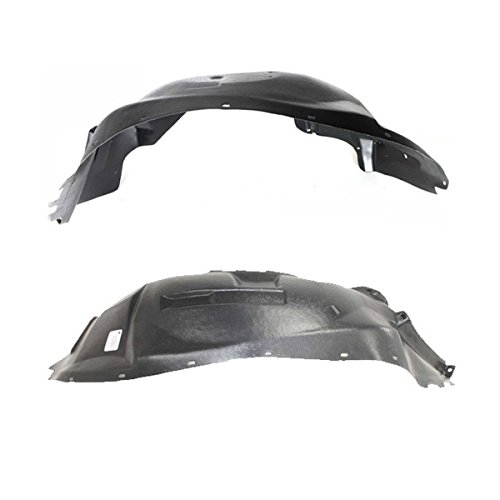 Koolzap For 97-04 Dakota Front Splash Shield Inner Fender Liner Panel Left & Right SET PAIR