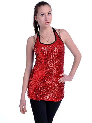 Anna Kaci Womens Stretchy Confetti Sequins product image